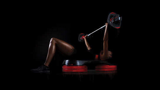 Les Mills SMARTBAR™ and SMARTSTEP